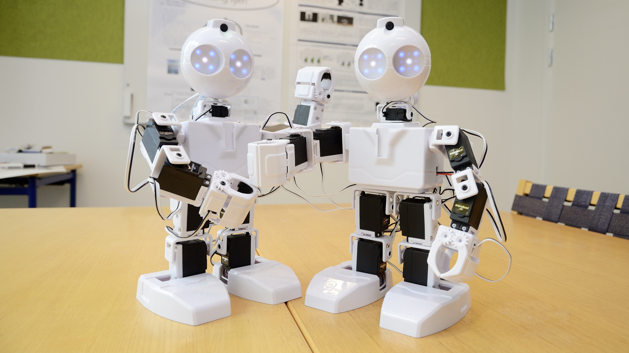 EZ robots are commonly used as a teaching platform on robotics.