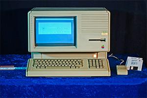 Gammel computer