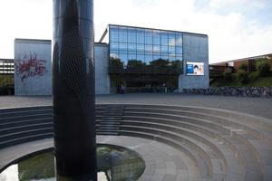 Hovedindgangen SDU Odense
