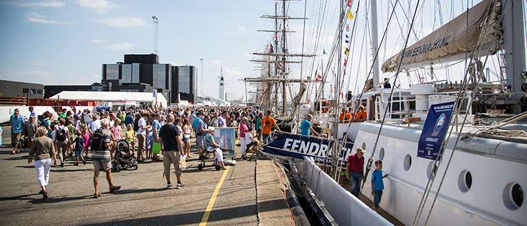 Tall ship race in Esbjerg