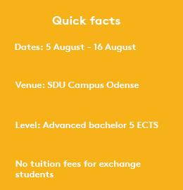 Deep Learning - University of Southern Denmark, SDU