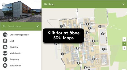 Vejviser Sdu Odense Syddansk Universitet