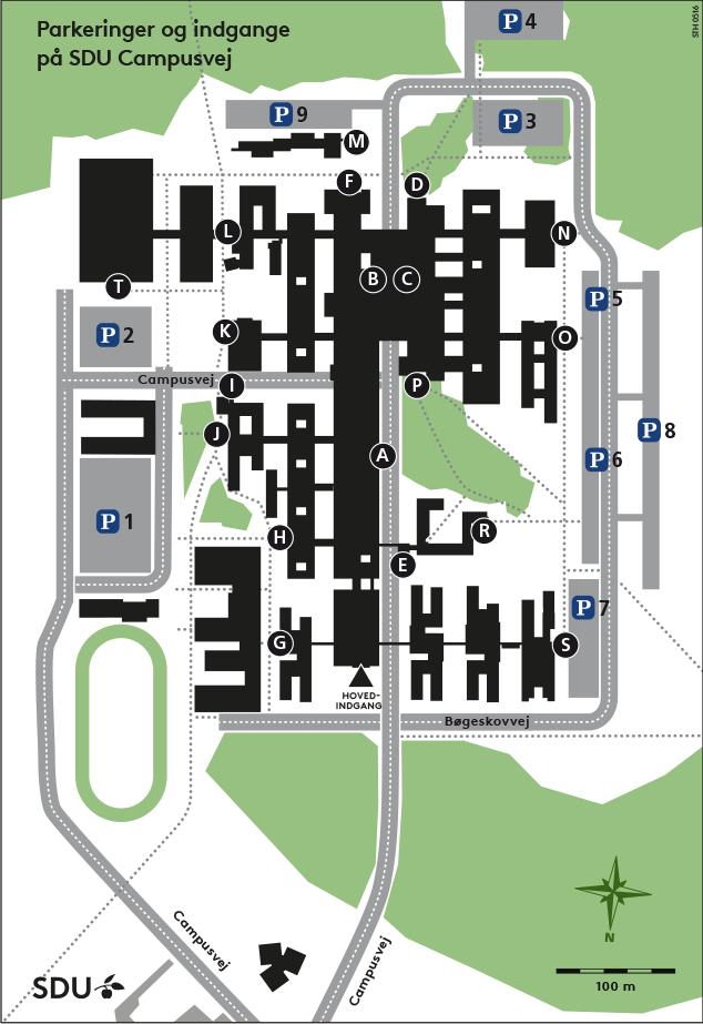 syddansk universitet kort