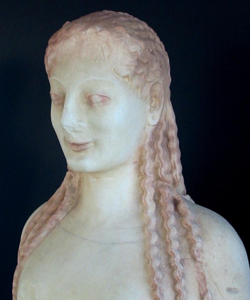 Peploskoren. Græsk, ca. 530 f.Kr.