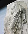 Den sandalbindende Nike. Græsk, ca. 410 f.Kr.