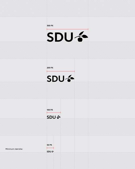 Logo størrelser