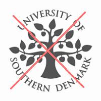 SDU's segl må ikke benyttes.