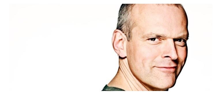 Porttrætbillede af skuespilleren Niels Olsen
