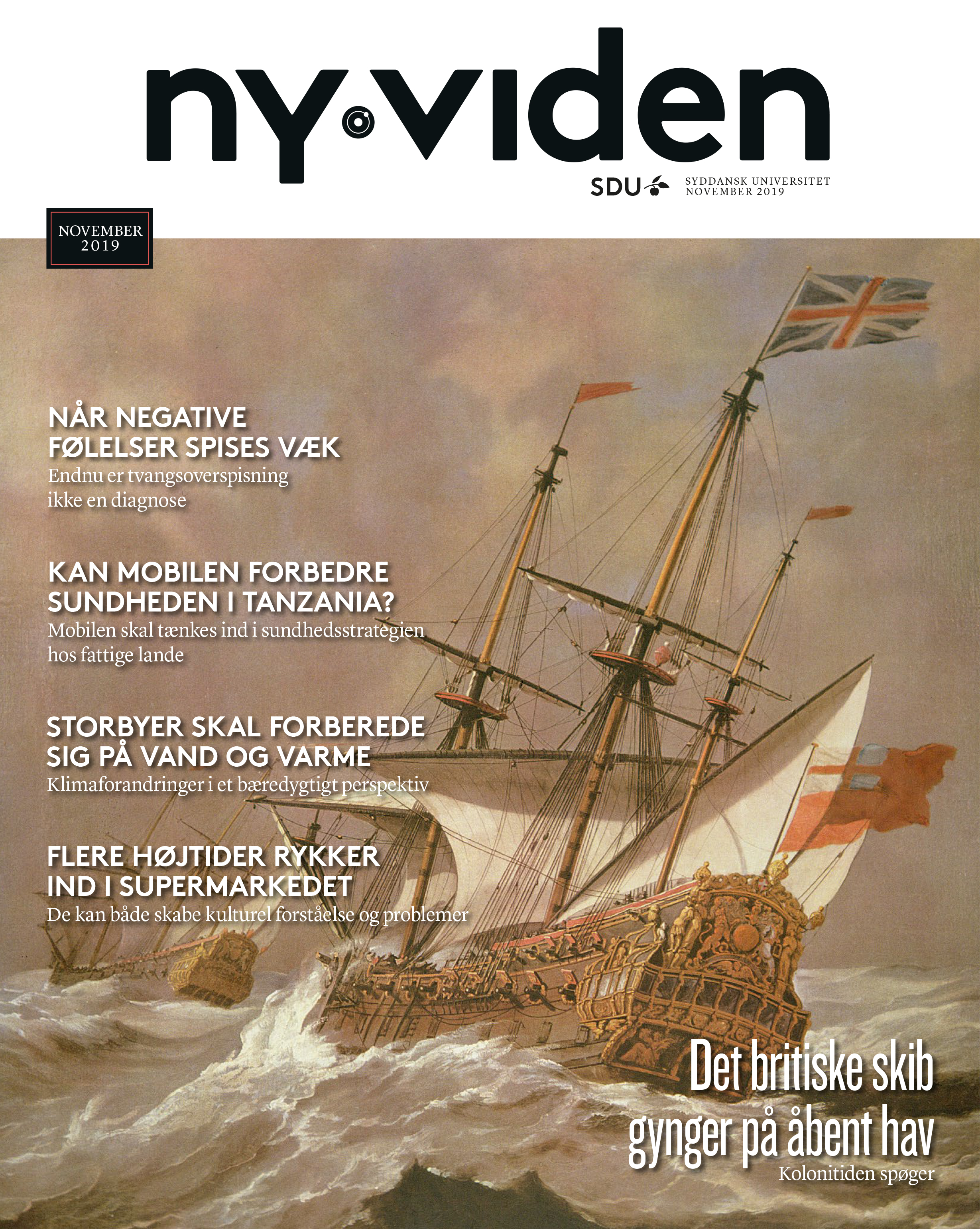 Forsiden af Ny Viden magasinet for november 2019