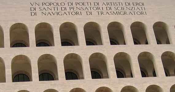 Palazzo della Civilta del Lavore - Det firkantede colosseum