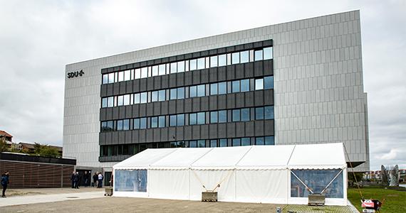 Center for Industriel Elektronik indvies i Sønderborg.