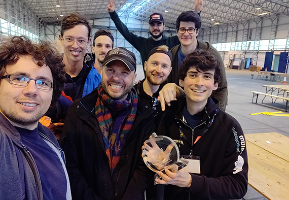 SDU Eagles teamet ved University Startup World Cup