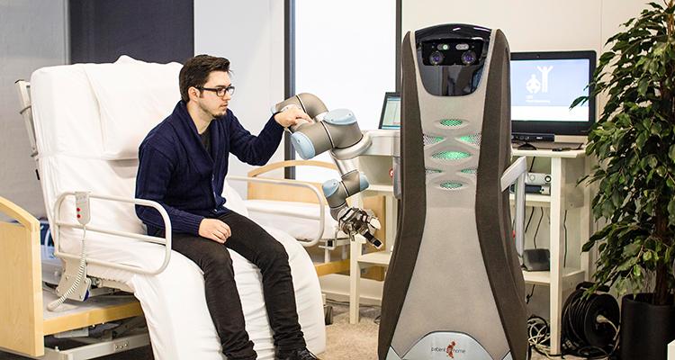 Patient@home-robot