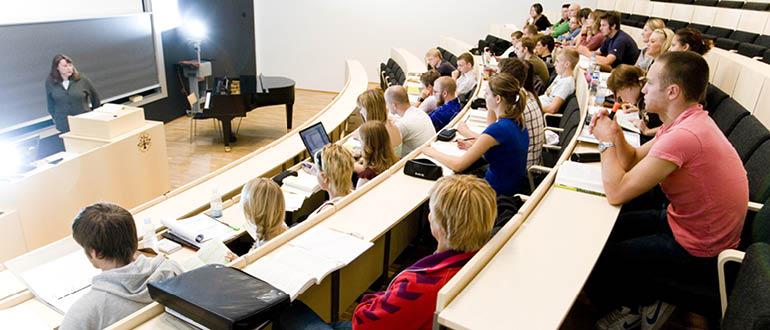 Auditoriet ved SDU i Esbjerg