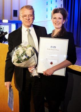 Niels H. Riewerts Eriksen og Linda Holm Sandholdt