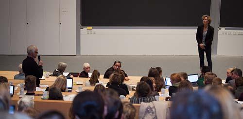 Konference med undervisningsminister Christine Antorini