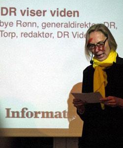 Generaldirektør Maria Røn fra DR