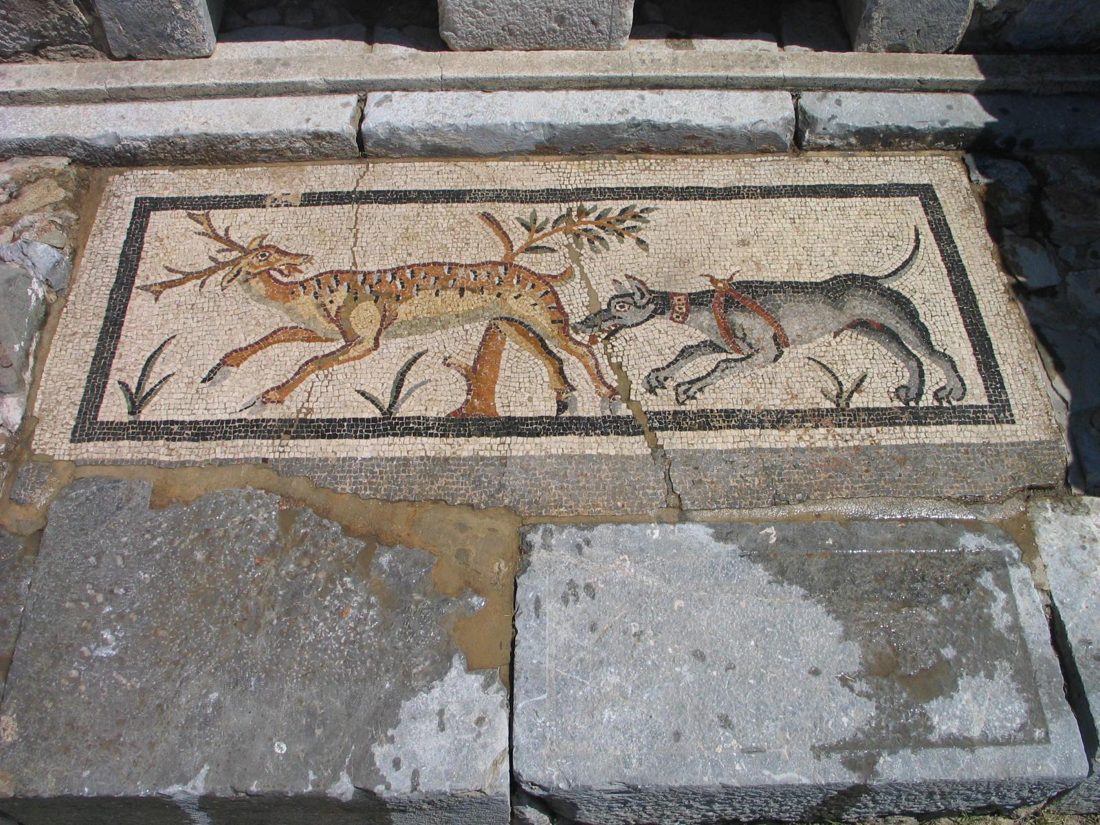Fig 5. Tomb 2 mosaic