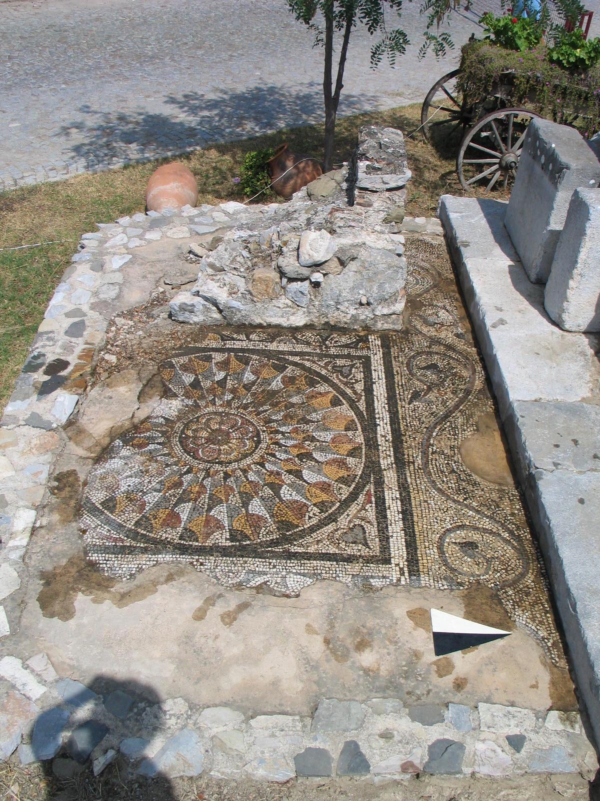 Fig. 7. Tomb 7 mosaic (B. Poulsen)