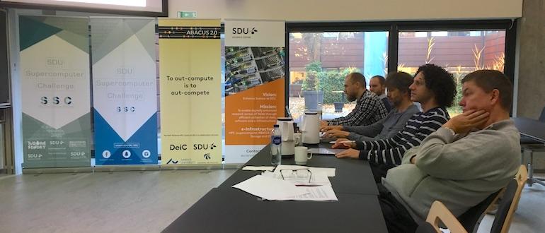 Finals of the SDU Supercomputer Challenge 2017