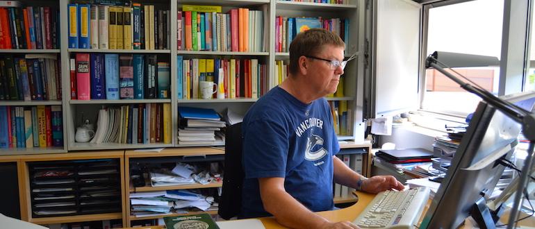 Professor Jørgen Bang-Jensen på Institut for Matematik & Datalogi