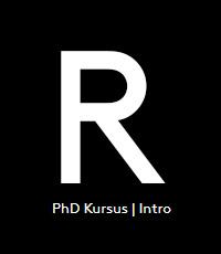 PhD Kursus R