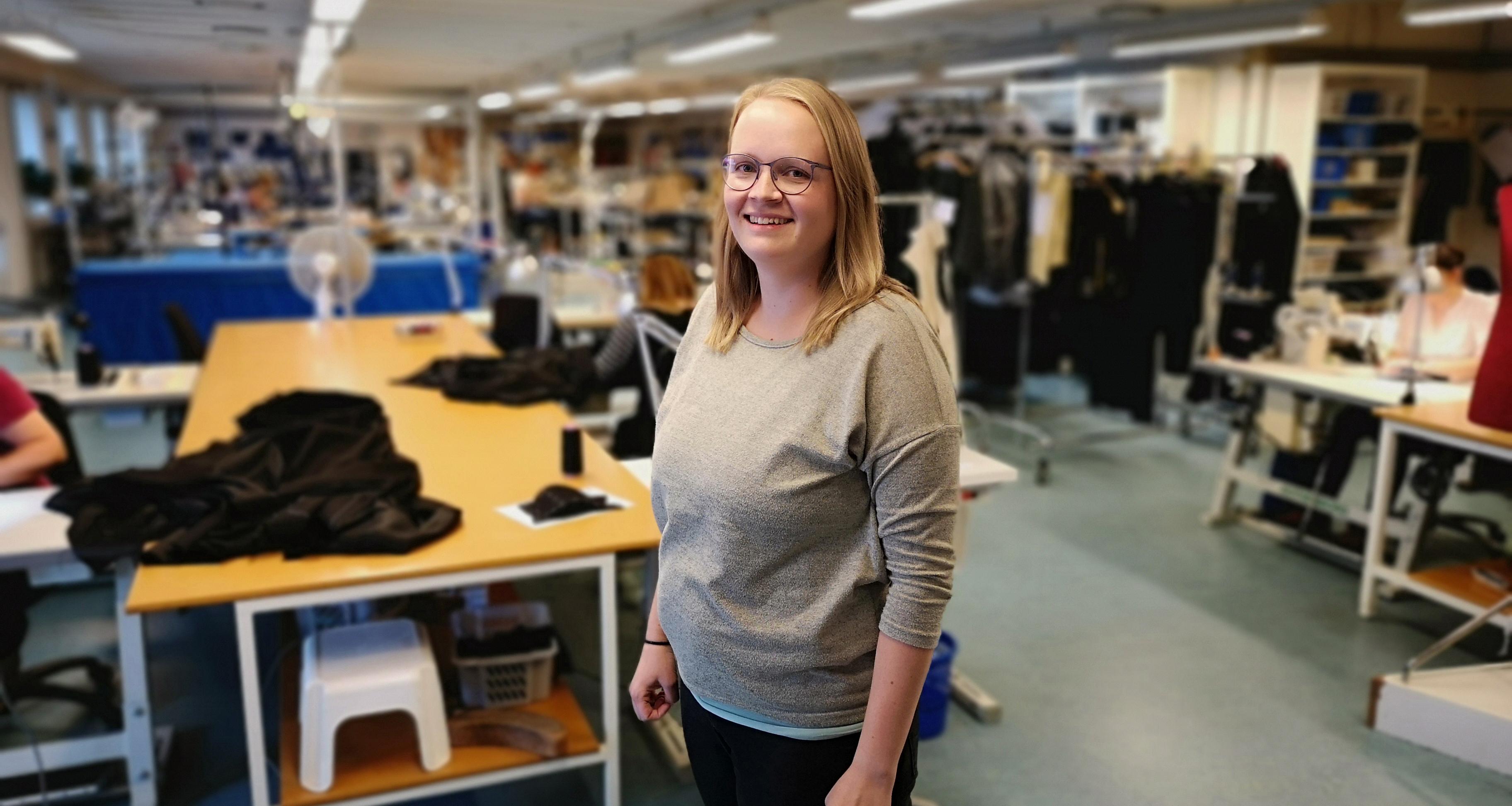 Foto: Stefanie Nielsen er højtuddannet og har gjort en forskel for den smv, hun er ansat i.