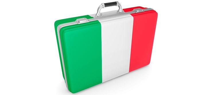 Italiensk kuffert
