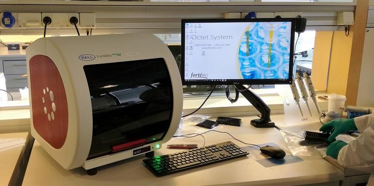 The new Octet biolayer interferometry instrument