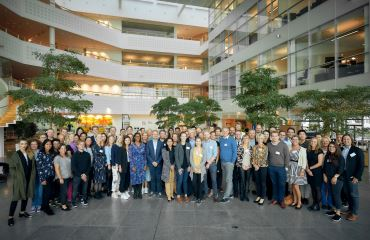 Group photo from MicrobLiver Symposium