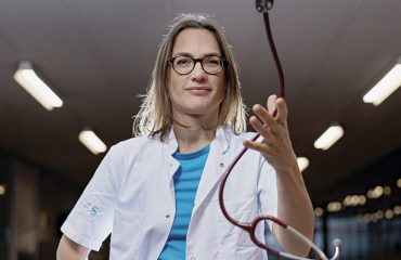 Foto læge Maja Thiele fra Sygt Nok